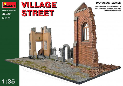MiniArt 36029 - Village street - 1:35