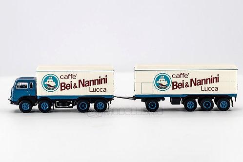 """Brekina 58427 - Fiat 690 Millepiedi, """"Bei&Nannini"""" - H0"""