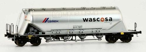 """NME 503724 - Carro Uacns 82m³ """"Wascosa CEMEX"""" - H0"""
