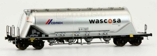 """NME 503721 - Carro Uacns 82m³ """"Wascosa CEMEX"""" - H0"""