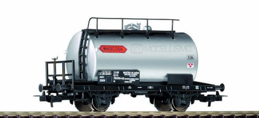 """Piko 58777 - Carro cisterna a due assi """"Wascosa"""", FS - H0"""