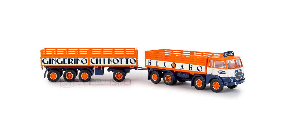 "Brekina 58410 - Fiat 690 Millepiedi ""Recoaro""- H0"
