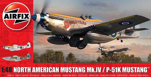 Airfix A05137 - North American Mustang Mk.IV/P-51K Mustang - 1:48