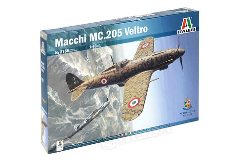 Italeri 2765 - Macchi MC.205 Veltro - 1:48