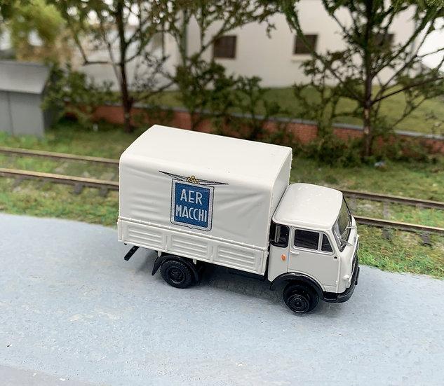 """Brekina 34619 - Autocarro OM 'Lupetto' """"AER MACCHI""""- H0"""