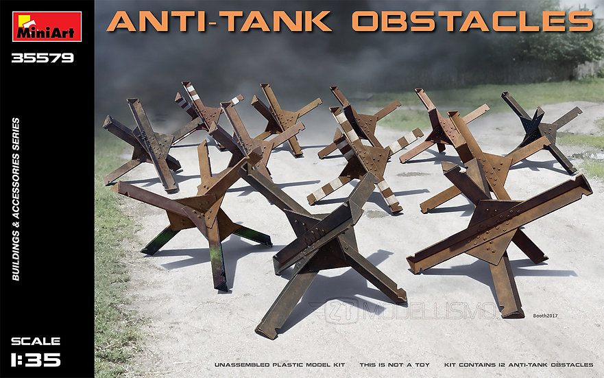 MiniArt 35579 - Anti-tank obstacles - 1:35