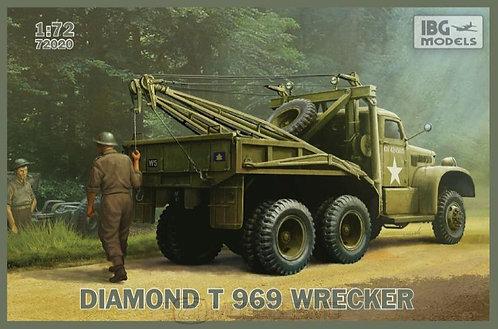 IBG Models 72020 - Diamond T969 Wrecker - 1:72