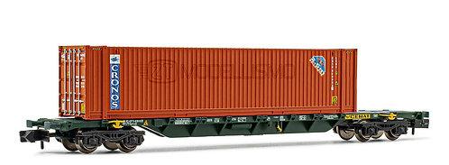 "Arnold HN6447 - Carro tipo Sgnss CEMAT con container ""Cronos"" - Scala N"