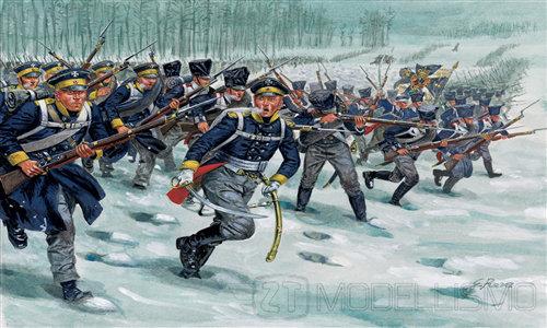 Italeri 6067 - Prussian Infantry, Guerre napoleoniche - 1:72