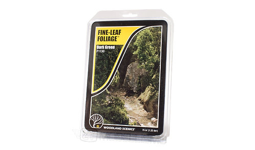 Woodland scenics F1130 - Fine-leaf foliage, dark green