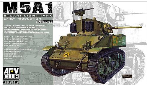 AFV Club 35105 - M5A1 Stuart light tank - 1:35