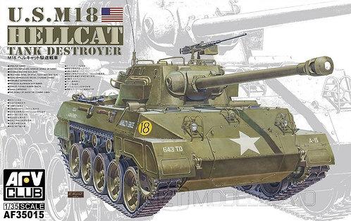 AFV Club 35015 - US M18 Hellcat tank destroyer  - 1:35