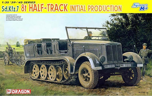 Dragon 6466 - Sd.Kfz.7 6t Half-Track - 1:35