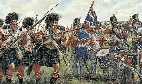 Italeri 6058 - Fanteria inglese e scozzese. Guerre Napoleoniche - 1:72