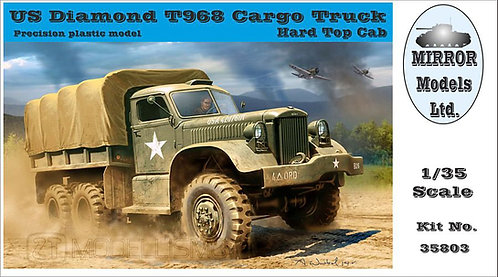 Mirror Models 35803  - US Diamond T968A Cargo Truck  - 1:35