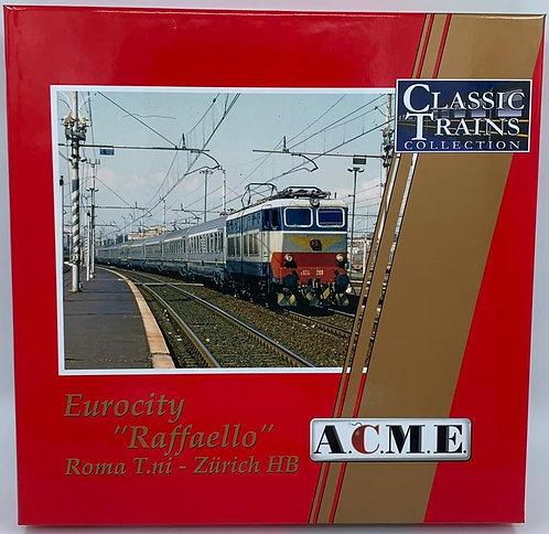 """Acme 55219 - Set Eurocity """"Raffaello"""", Roma T.ni - Zurich HB - H0"""