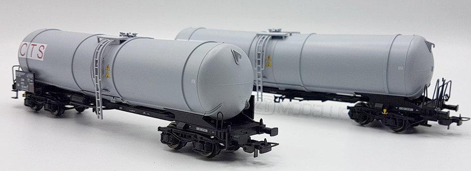 "Blackstar BS00024 - Set due cisterne Zans ""OTS"", FS - H0"