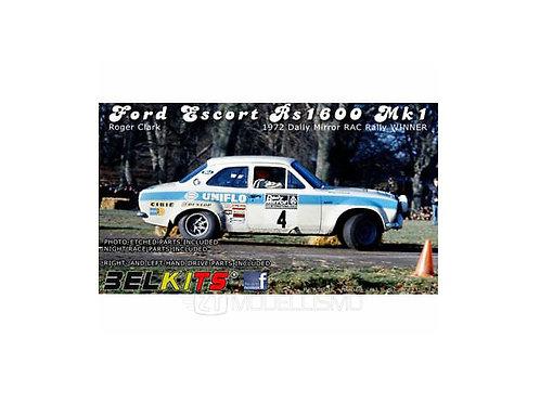 Belkits 007 - Ford Escort Rs 1600 Mk1 - 1:24