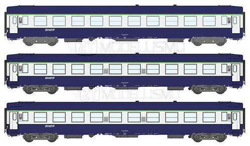 REE Modeles  VB-181 - Set di tre cuccette UIC B9C9x - H0