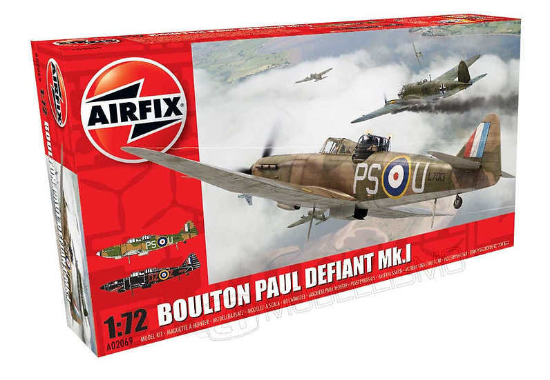 Airfix A02069 - Boulton Paul Defiant Mk.I - 1:72