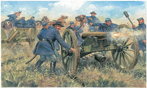 Italeri 6038 - Union Artillery, Guerra civile americana - 1:72