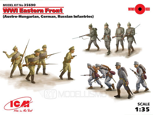 ICM 35690 - WWI Eastern Front - 1:35