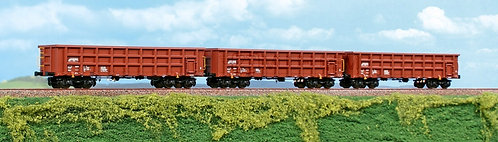 ACME 45062 - Set di tre carri merci tipo Eaos, ON RAIL - H0