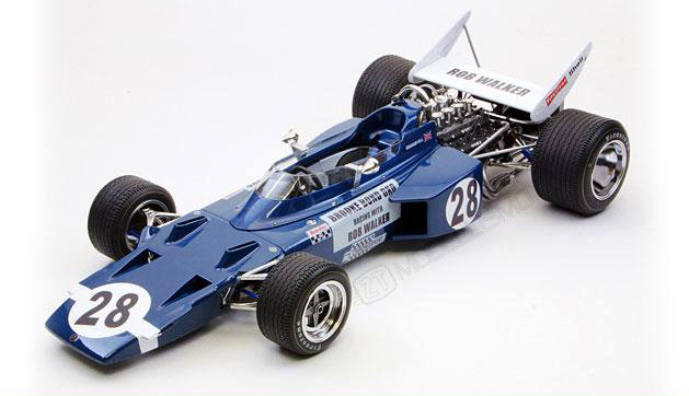 PlasticKit Ebbro - Rob Walker Team Lotus Type 72C 1970 - 1:20