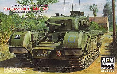 AFV Club 35S52 - Churchill MK.VI - 1:35