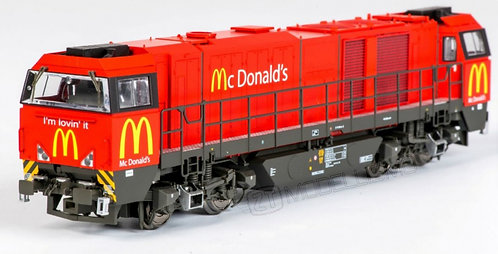 "B-models 9901.03 - G2000 ""Mc Donald's"", DCC Sound - H0"