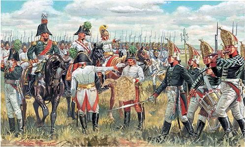Italeri 6037 - Austrian & Russian General staff, Guerre napoleoniche - 1:72