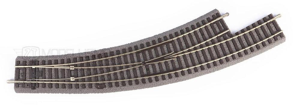 Piko 55427 - Scambio curvo sinistro manuale BWL R3/R4 con massicciata - H