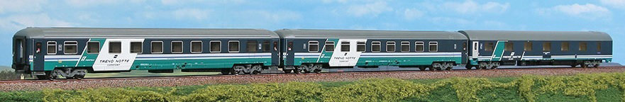 Acme 55146 - Set Intercity Notte Trenitalia - H0