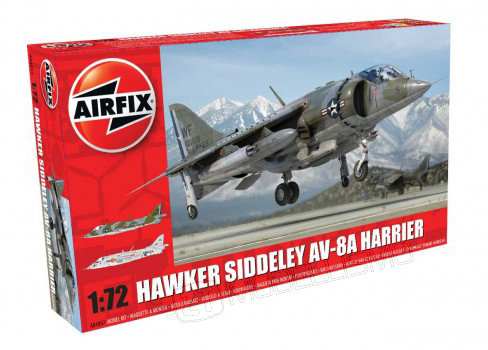 Airfix A04057 - Hawker Siddeley Av-8A Harrier - 1:72