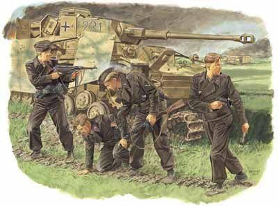 Dragon 6129 - Survivors, Panzer Crew (Kursk 1943) - 1:351
