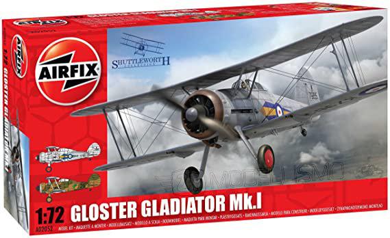 Airfix A02052 - Gloster Gladiator Mk.I - 1:72