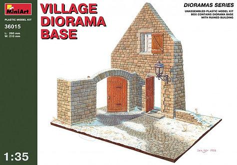 MiniArt 36015 - Village diorama base - 1:35