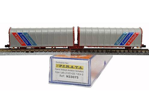Pi.R.A.T.A. N33075 - Carro doppio telonato SHOLTES-ARISTON-INDESIT, Lails - N
