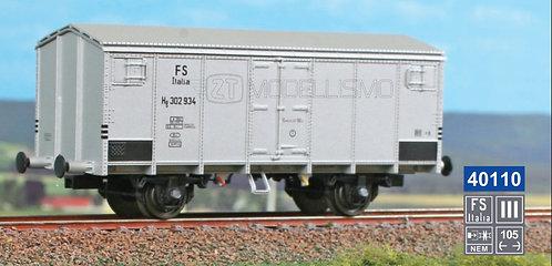 ACME 40110 - Carro frigo tipo Hg con garitta, FS - H0