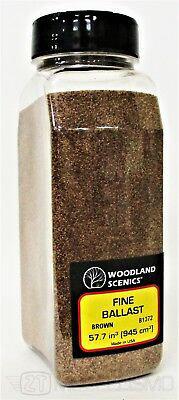 Woodland scenics B1372 - Ballast, fine brown