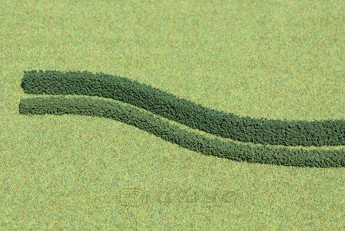 Heki 1185 - 3 siepi flessibili, verde scuro