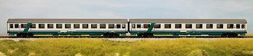 ACME 55120 - Set di due carrozze Eurofima di 1° cl e 2° cl - H0