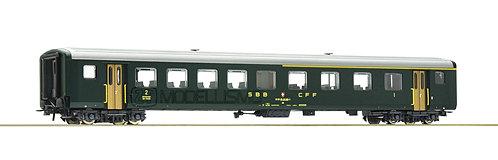 Roco 74561 - Carrozza passeggeri di 1°cl e 2°cl, EW II, SBB FFS - H0