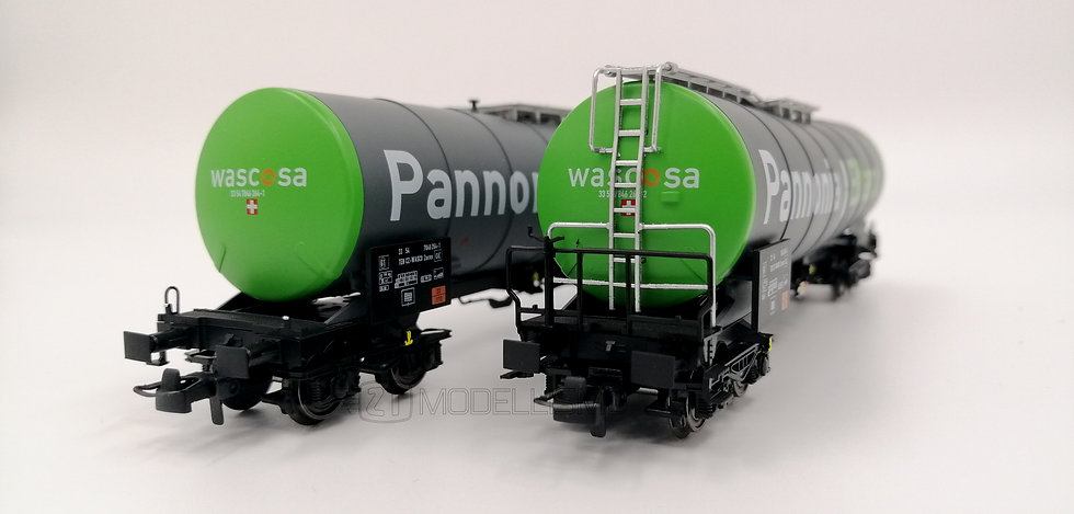 "B-models VB-81058 - Set 2 carri Zacns, CZ-Wasco, ""Pannonia"" - H0"