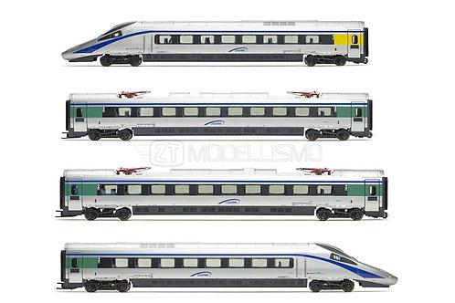 Lima Expert HL1672 + HL4672 - ETR 610.02 con carrozze dalla 1 alla 7, FS