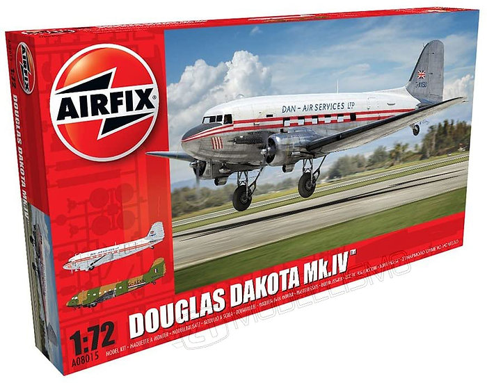 Airfix A08015 - Douglas Dakota Mk.IV - 1:72
