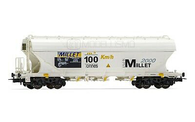 "Rivarossi HR6418 - Carro tramoggia ""Millet 2000 - 100 Tons"" - H0"