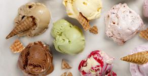Dairy free Liquorice Ice cream