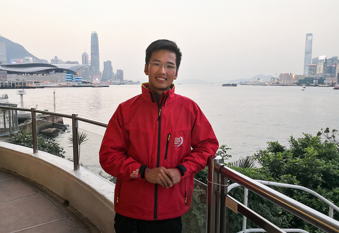 Youngest skipper to take on the 2018 Rolex China Sea Race!勞力士中國海帆船賽2018最年輕的船長