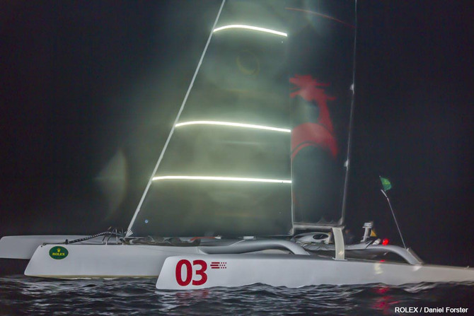 Karl C Kwok / MOD Beau Geste Racing SMASH Multihull Record!